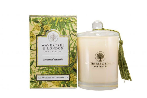 Wavertree & London-LEMONGRASS & LEMON MYRTLE CANDLE