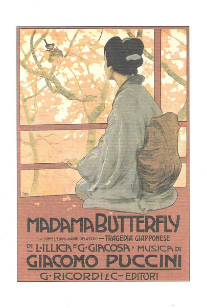 Greeting Cards - Instituto FotoCromo Italiano - Madama Butterfly