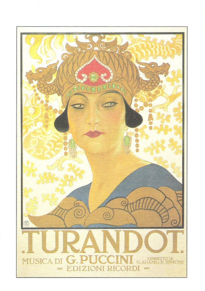 Greeting Cards - Instituto FotoCromo Italiano - Turandot