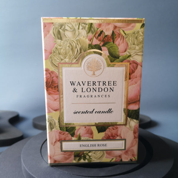 Wavertree & London-ENGLISH ROSE CANDLE