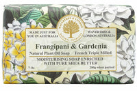 Wavertree & London-FRANGIPANI & GARDENIA SOAP BAR 200G