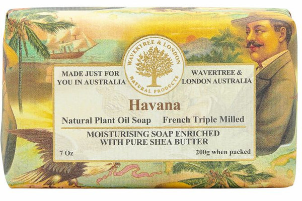 Wavertree & London-HAVANA SOAP BAR 200G