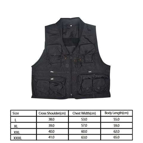 Korean Fishing Vest Quick Dry Fish Vest Breathable Material Fishing Jacket Polyester Fiber Fish Jacket Three Color L/XL/XXL/XXXL, Outdoors, SwaangCity, SwaangCity