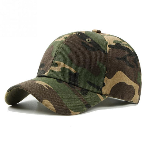 Men Camouflage Printing Fishing Caps Hunter Outdoor Camo Casquette Hat Climbing Hunting Desert Hats, Outdoors, SwaangCity, SwaangCity