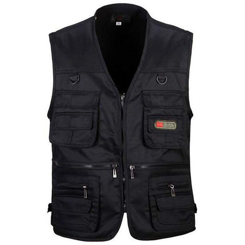 Men's Fishing Vest with Multi-Pocket Zip for Photography / Hunting / Travel Outdoor Sport, Outdoors, SwaangCity, SwaangCity