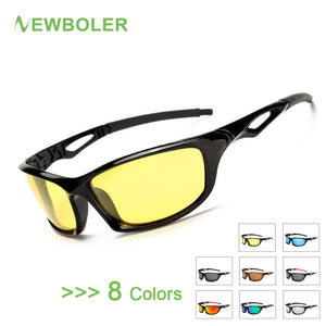 NEWBOLER Polarized Fishing Glasses Men Outdoor Sport  Goggles Night Version Driving Hiking Sports Sunglasses Fishing Eyewear, Outdoors, SwaangCity, SwaangCity