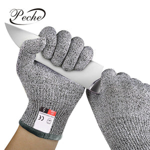 Peche Anti-cut Outdoor Fishing Gloves Knife Cut Resistant Protection Touch Screen Anti-Slip Ultra-thin Steel Wire Mesh Gloves, Outdoors, SwaangCity, SwaangCity