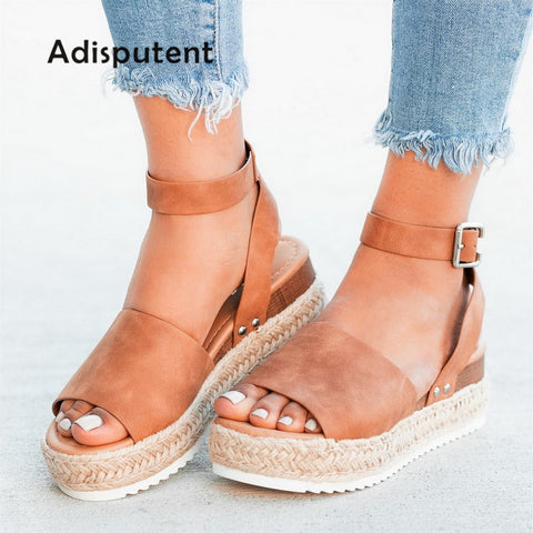 ADISPUTENT Women's Platform Sandals Fashion High Heels Wedges Shoes Pumps, Shoes, SwaangCity, SwaangCity