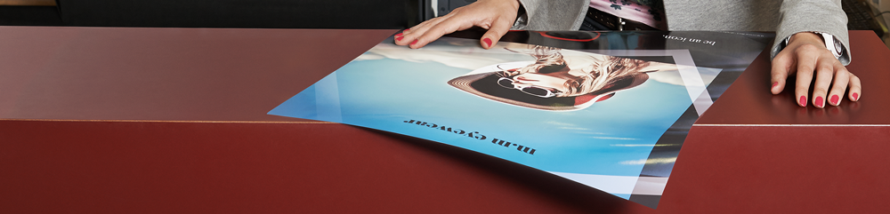 Printing high quality posters for client