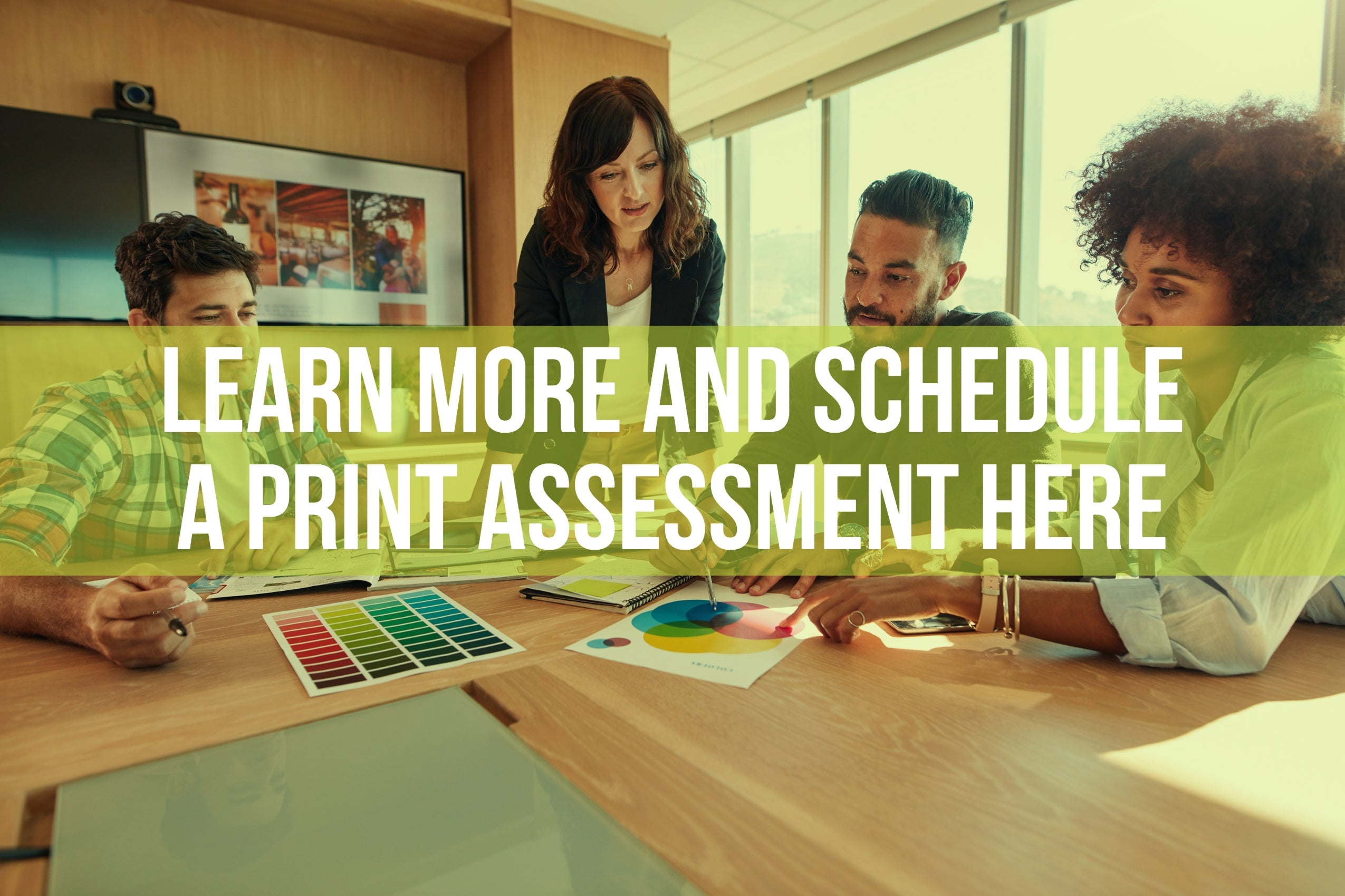 Link to schedule a print assessment with Lasers Resource