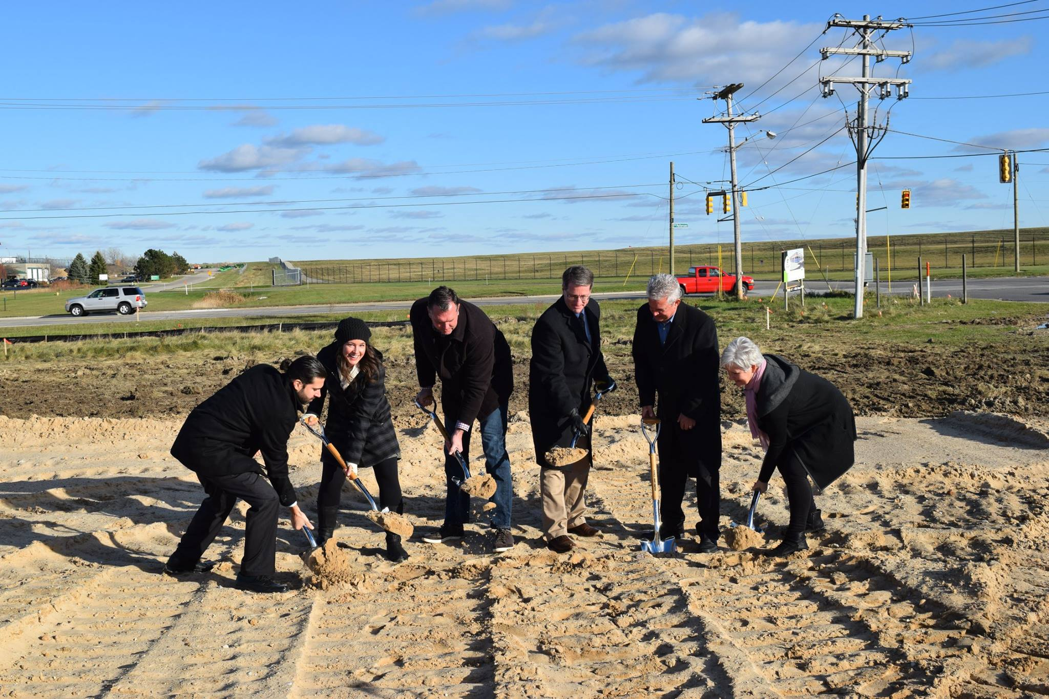 Lasers Resource New Building Ground breaking | Construction