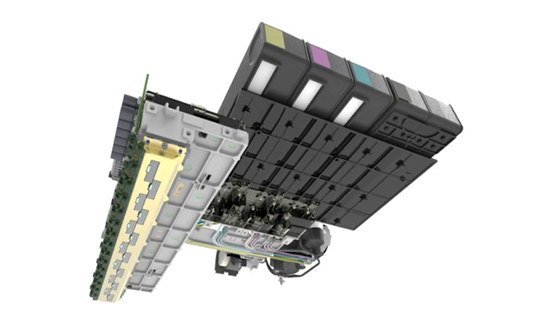 HP PageWide printhead and ink cartridges