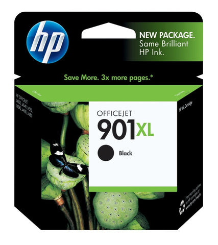 HP 901XL (CC654AN) High Yield Black Original Ink Cartridge (700 Yield)
