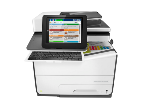 HP 586Z PageWide Enterprise Color MFP