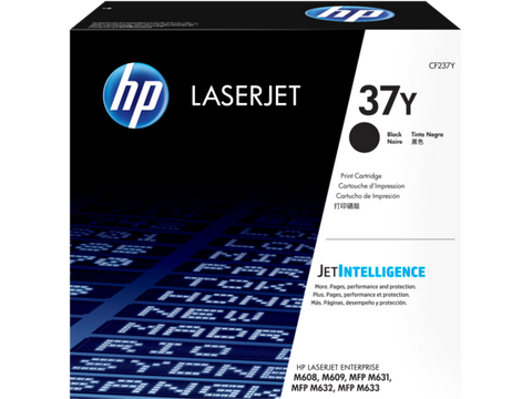 HP 37Y (CF237Y) LaserJet Enterprise M608 M609 MFP M631 M632 M633 Extra High Yield Black Original LaserJet Toner Cartridge (41000 Yield)