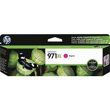 HP 971XL (CN627AM) High Yield Magenta Original Ink Cartridge (6600 Yield)