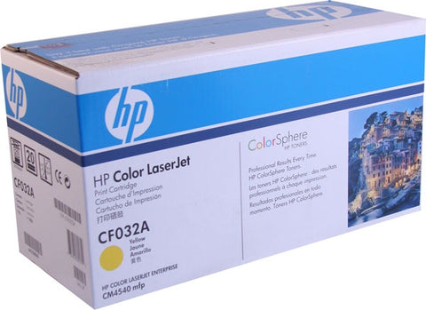 HP 646A (CF032A) Yellow Original LaserJet Toner Cartridge (12500 Yield)