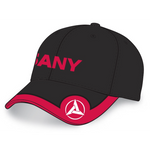 Black & Red Ball Cap