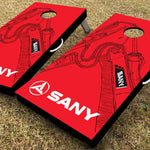 SANY Red Cornhole Set