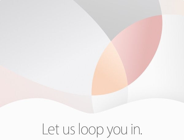Let Us Loop You In - Apple Event