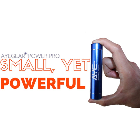 Best powerbank by AyeGear - charge your devices from this device, easily fits into all pockets