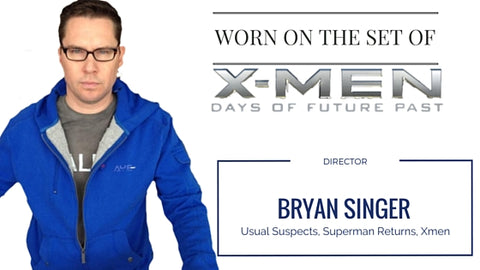 Bryan Singer on set with his AyeGear Hoodie