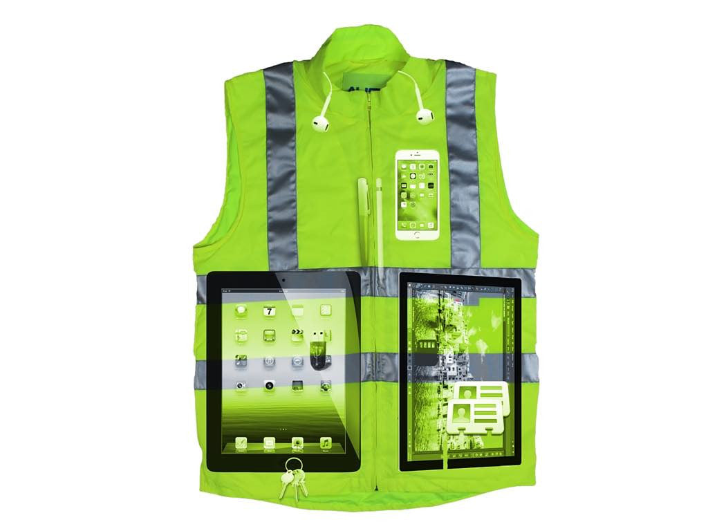 AyeGear Hi-Visibility Smart Workwear with lots of hidden pockets  1c14f5bbc