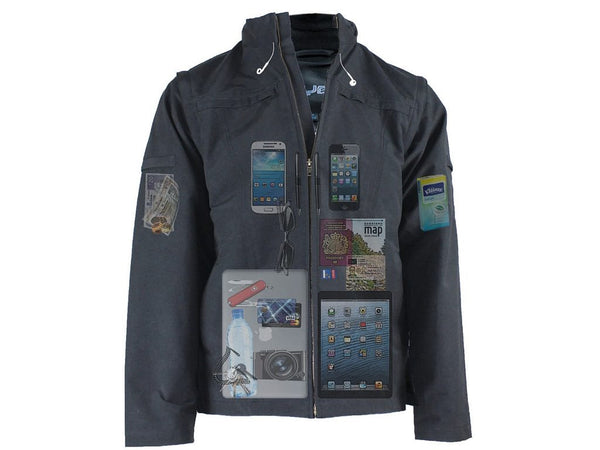 AyeGear J25 Jacket (clearance) , Jacket - AyeGear - Travel Clothing, Carry Your iPad | Travel Vests | Hoodies | Jackets | Tees, AyeGear - Travel Clothing, Carry Your iPad | Travel Vests | Hoodies | Jackets | Tees  - 1