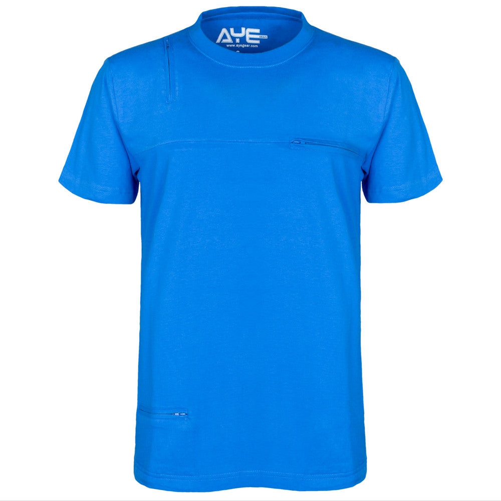 Brand new AyeGear MultiPocket Tshirt | 5 Pockets | Functional PickPocket Proof VN77