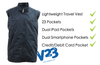 AyeGear V23 - Travel Vest , Travel Vest - AyeGear, AyeGear - Travel Clothing, Carry Your iPad | Travel Vests | Hoodies | Jackets | Tees  - 5