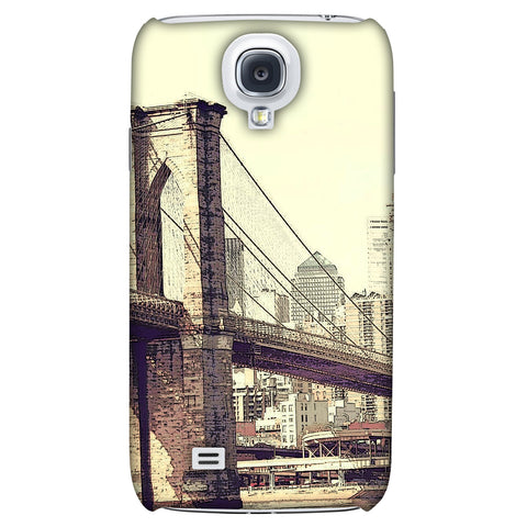 Bridge Link Slim Hard Shell Case For Samsung GALAXY S4