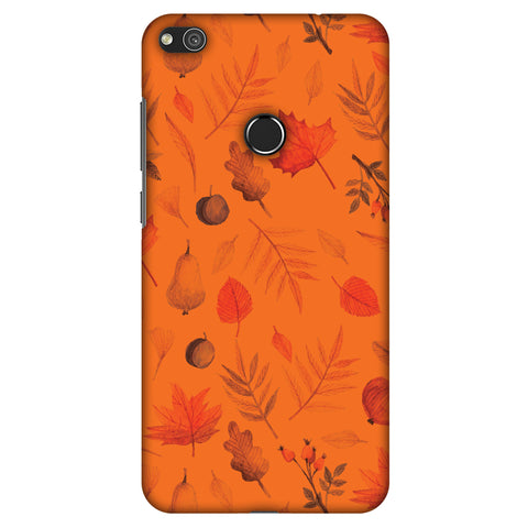 Colours Of Autumn Slim Hard Shell Case For Huewai P8 Lite