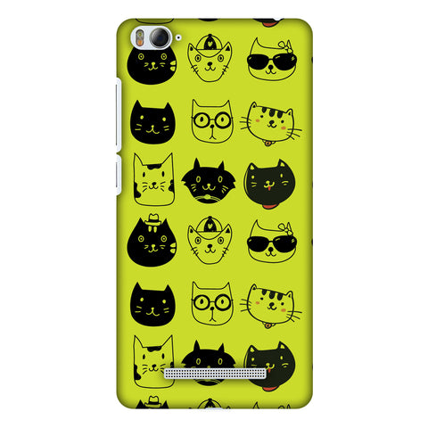 Cat Party Slim Hard Shell Case For Xiaomi Mi 4i