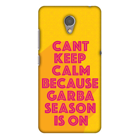 Garba Can't Keep Calm Slim Hard Shell Case For Lenovo P2