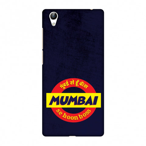 Mumbai Se Hu Boss Slim Hard Shell Case For Vivo Y51L-Y51