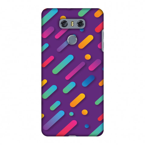 It's Raining Gradients! Slim Hard Shell Case For LG G6