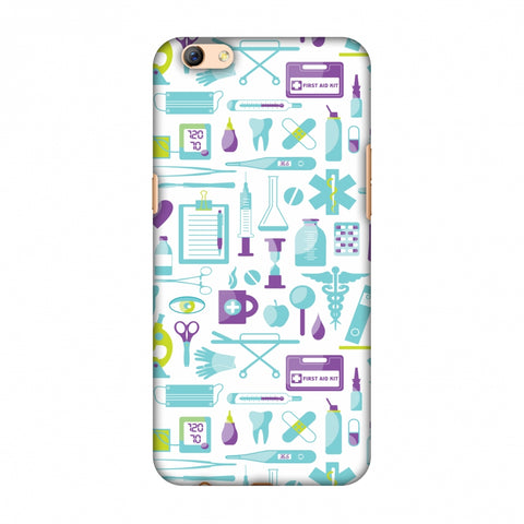 Doctor Pattern 1 Slim Hard Shell Case For Oppo R9s