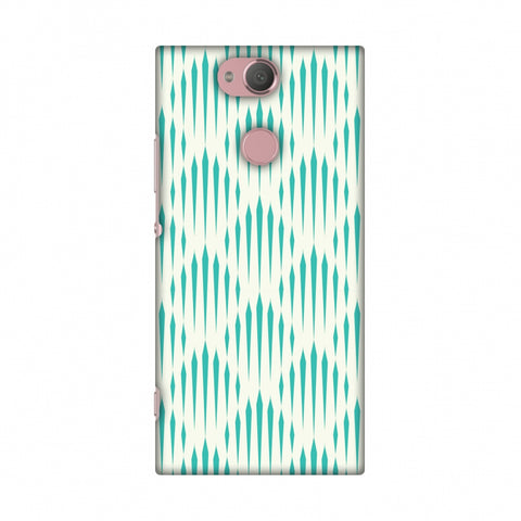 Stripes 1 Slim Hard Shell Case For Sony Xperia XA2