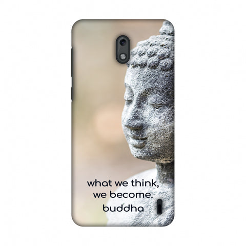 Buddha Quotes 7 Slim Hard Shell Case For Nokia 2