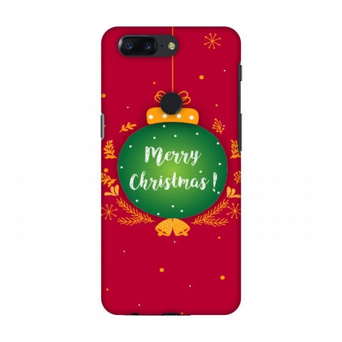 Christmas Slim Hard Shell Case For OnePlus 5T