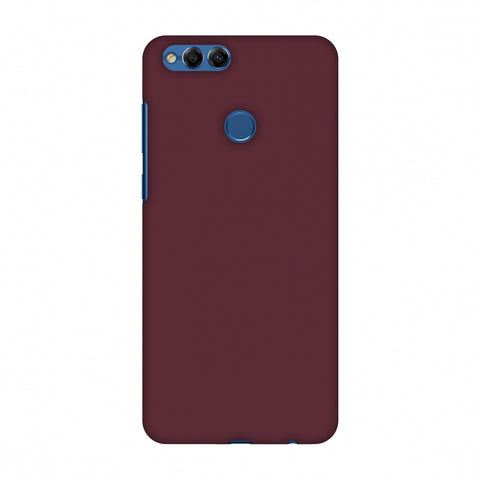 Tawny Port Slim Hard Shell Case For Huawei Honor 7X