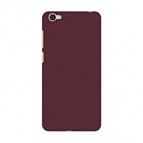 Tawny Port Texture Slim Hard Shell Case For Vivo Y55