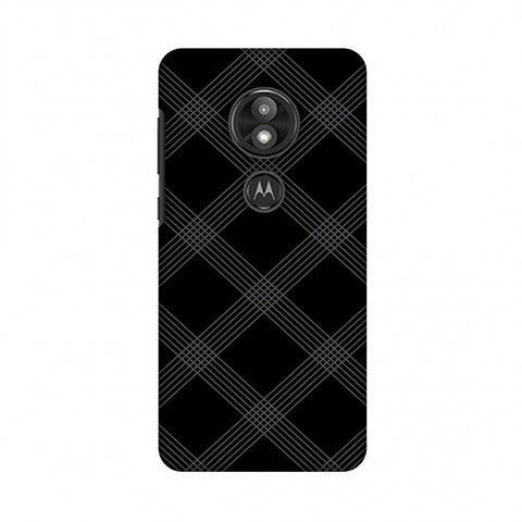 Carbon Fibre Redux 5 Slim Hard Shell Case For Motorola Moto E5 Play