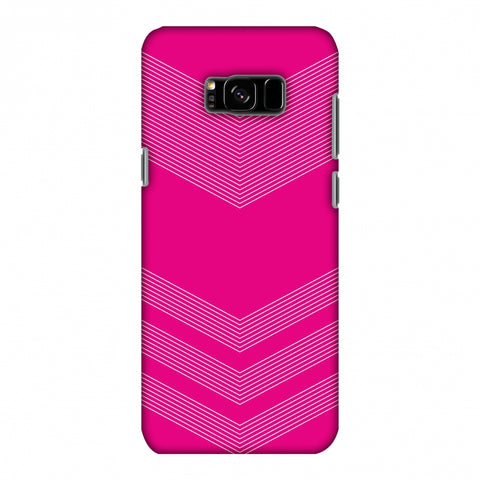 Carbon Fibre Redux Hot Pink 2 Slim Hard Shell Case For Samsung Galaxy S8 Plus