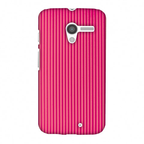 Carbon Fibre Redux Hot Pink 12 Slim Hard Shell Case For Motorola Moto X
