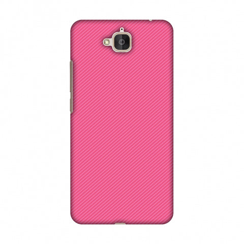 Carbon Fibre Redux Hot Pink 14 Slim Hard Shell Case For Huawei Honor Holly 2 Plus