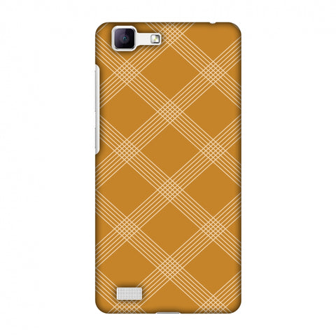 Carbon Fibre Redux Desert SAnd 5 Slim Hard Shell Case For Vivo Y35-V1