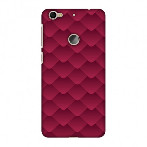 Carbon Fibre Redux CAndy Red 11 Slim Hard Shell Case For LeEco Le 1S
