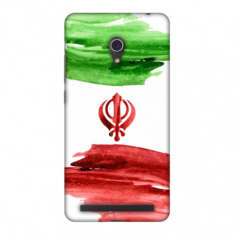 Iran Flag - Paint Strokes Slim Hard Shell Case For ASUS Zenfone 6 A600CG