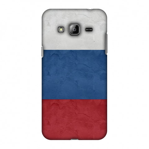 Russia Flag - Textures Slim Hard Shell Case For Samsung GALAXY J2